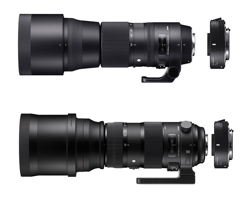 Kits SIGMA 150-600mm Contemporary y Sports + TC-1401